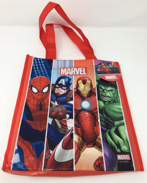 Marvel Bag containing 4 Storybooks